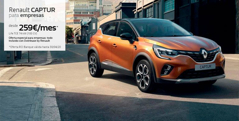 Renault Captur para empresas